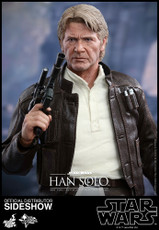 hot toys han solo the force awakens