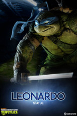 teenage mutant ninja turtles leonardo statue