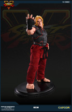 pop culture shock street fighter ken statue