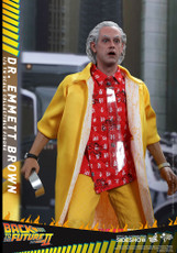 hot toys movie masterpiece series dr emmett brown 1/6 scale figure
