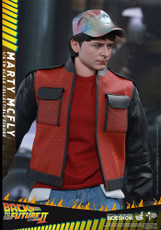 hot toys marty mcfly movie masterpiece sixth scale figure
