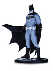 batman black white statue jason fabok