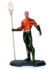 dc comics icons aquaman statue