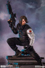 Winter Soldier Polystone Statue