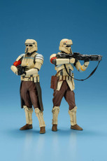 kotobukiya rogue one scarif stormtrooper artfx+ statue 2 pack