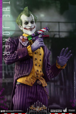 hot toys batman arkham asylum joker 1/6 scale figure