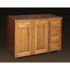Schrocks of Walnut Creek Larger Standard Cabinet in Real Cherry Wood and Your Choice of Stain