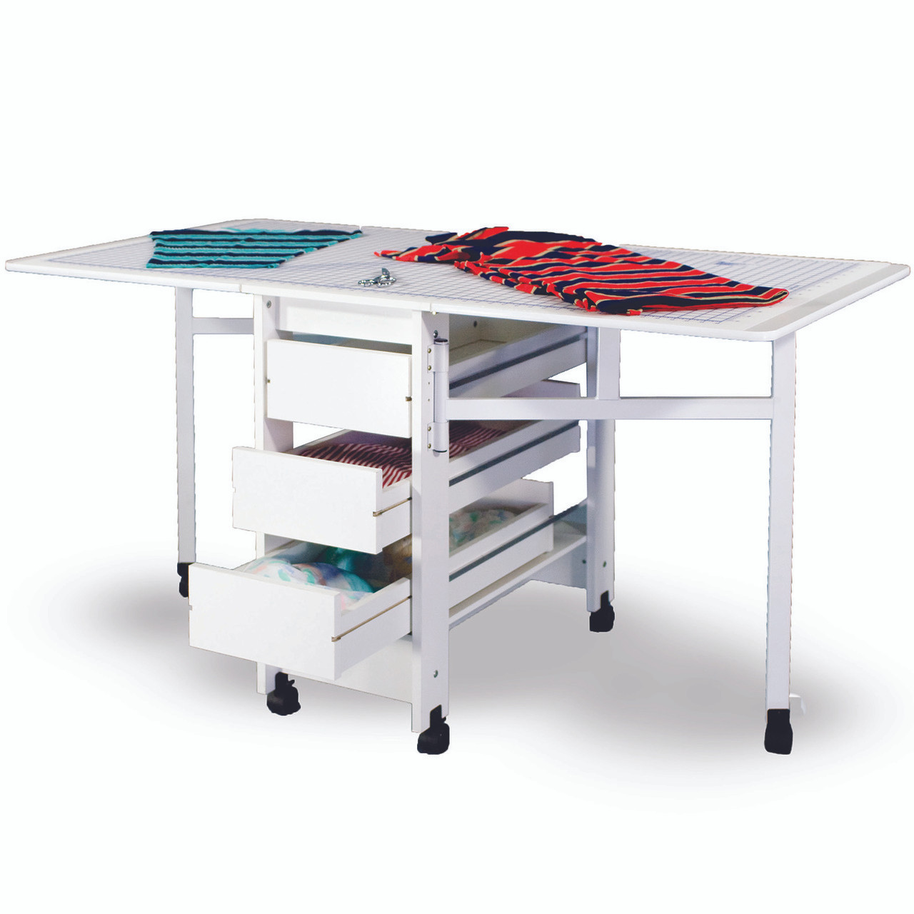... Fashion Sewing Cabinets #98 Large Cutting U0026 Craft Table Without Drawers