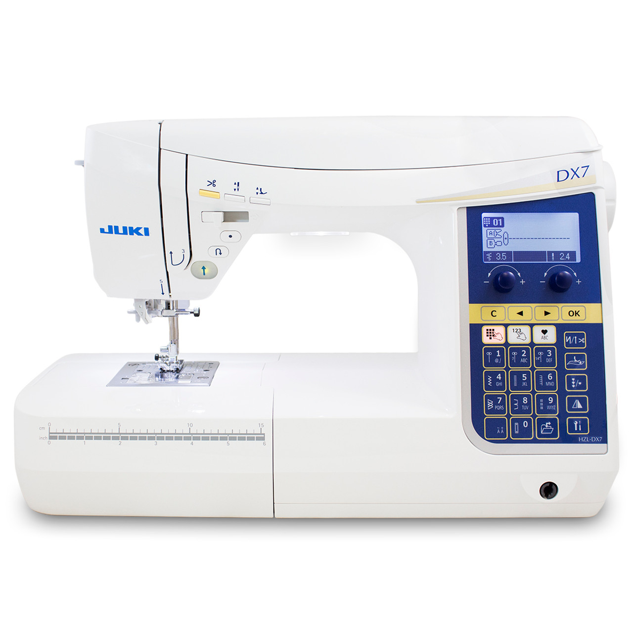 Juki HZL-DX7 Computerized Sewing and Quilting Machine $1,399.00 ... : juki quilting sewing machine - Adamdwight.com