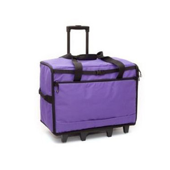 BlueFig TB23 Wheeled Travel Bag Combo (Purple)
