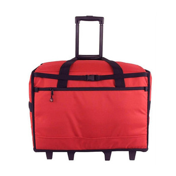 BlueFig TB23 Wheeled Travel Bag Combo (Red)