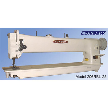 Consew Model 206RBL-25 Flat Bed Sewing Machine