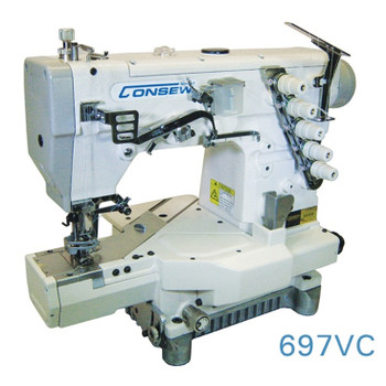 Consew Model 697VC Overlock / Coverstitch Sewing Machine
