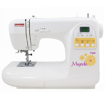 Janome Magnolia 7360 Sewing Machine - Front View