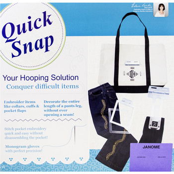 Quick Snap Hoop Set For Janome MB4