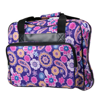 Janome Sewing Machine Tote Bag - Purple Floral