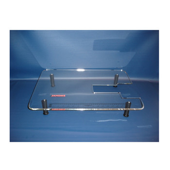 """Janome 18"""" x 24"""" Acrylic Extension Table for Models TB12, RX18S, 108, 110, 344, L372, L392, 4612LE & HD1000"""