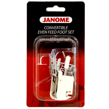 Janome Top Load Low Shank Convertible Even Feed Foot Set