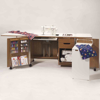 Fashion Sewing Cabinets 5400 Ultimate Sew & Serge Credenza