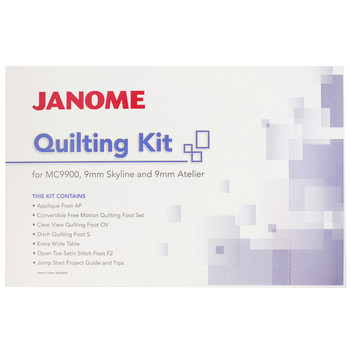 Janome Quilting Accessory Kit for 9mm Machines