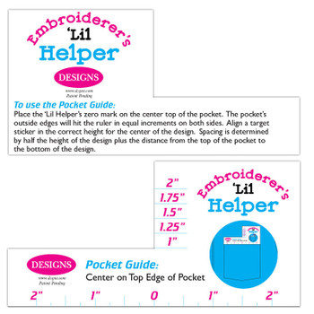 Embroiderer's Lil Helper - Placement Tools