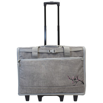 "BlueFig DS23 Wheeled Travel Bag 23"" In Blossom Grey"