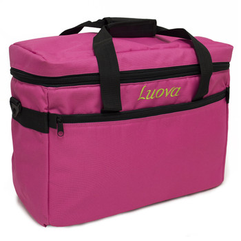 """Luova 18"""" Sewing Machine Tote in Pink"""