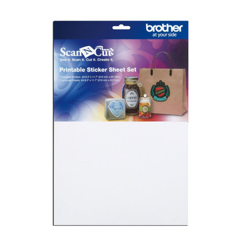 Brother ScanNCut Printable Sticker Sheet Set