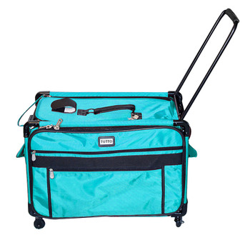 Tutto 2XL Turquoise Monster Machine Bag on Wheels