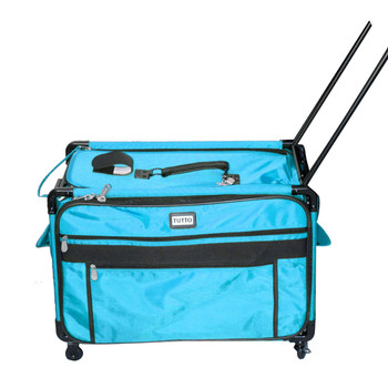 Tutto 1XL Turquoise Monster Machine Bag on Wheels