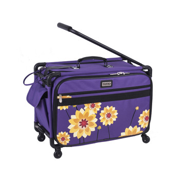 "Tutto 22"" Large Sewing Machine Bag on wheels"