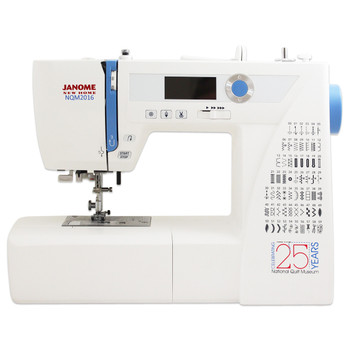 Janome NQM2016 National Quilt Museum 25th Anniversary Edition - Easy Convenient Features