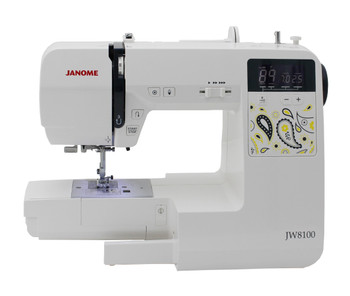 Janome JW8100 Computerized Sewing and Quilting Machine Refurbished