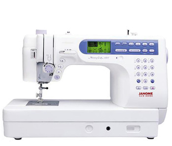 Janome Memory Craft 6500P Sewing Machine - Front View