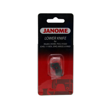 Janome Serger Lower Knife for Models 1110DX, 634D, 3434D and More