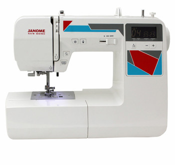 Janome MOD-100 Computerized Sewing Machine - Front View