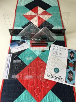 Sew Steady Down Under Table Runner 15pc Patchwork and Quilting Project Kit