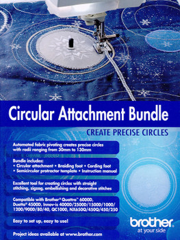 Brother Circular Sewing Attachment Bundle