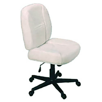 Horn of America Sewing Chair 14090 - Beige Upholstery with Black Base