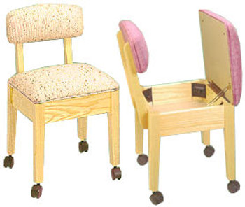 Comfee 8300N Skipper Sewing Chair by Stump Home Specialties