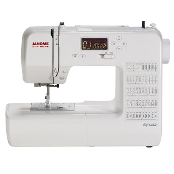 Janome DC1050 Computerized Sewing Machine - Front View