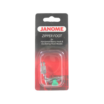 Janome Front-Load - Narrow Base Zipper Foot
