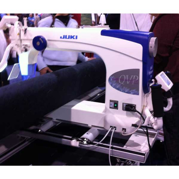 Juki TL2200QVp Quilt Virtuoso Pro with Grace Virtuoso King Quilting Frame
