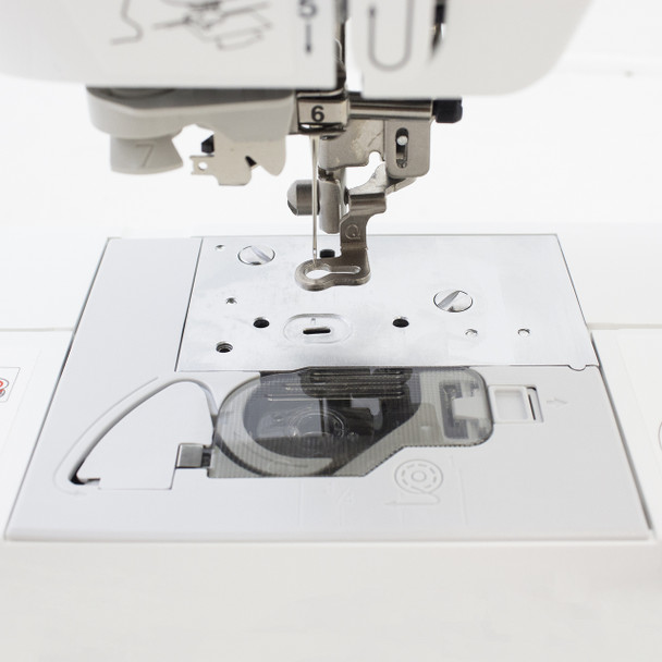 Brother PE540D Disney Embroidery Only Machine needle plate