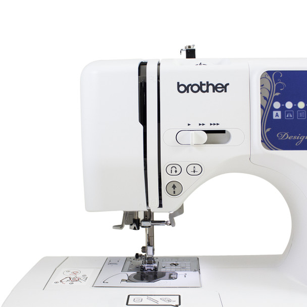 Brother Designio DZ2750 Computerized Sewing & Quilting Machine needle area
