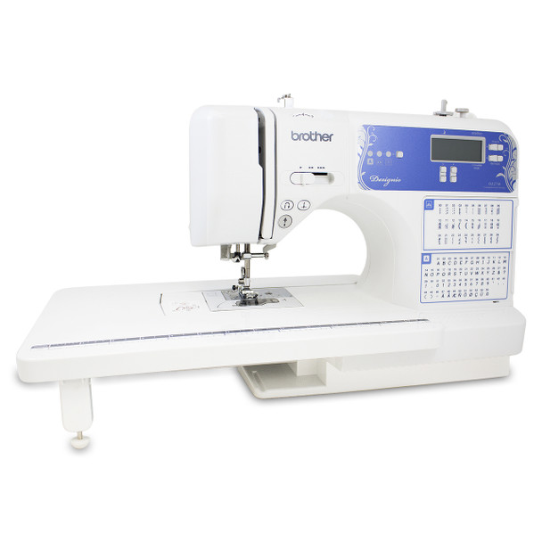 Brother Designio DZ2750 Computerized Sewing & Quilting Machine with extension table