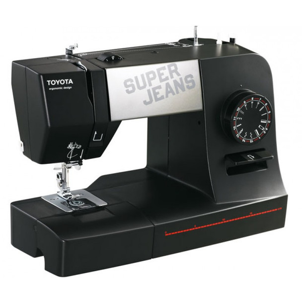 Toyota J15 Super Jeans Sewing Machine left view
