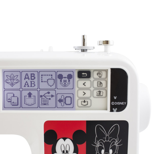 Brother PE540D Disney Embroidery Machine control pad