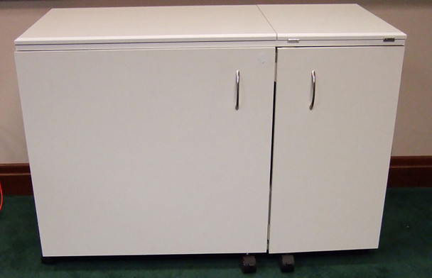 Arrow 62031 Sewing and Serger Cabinet in White