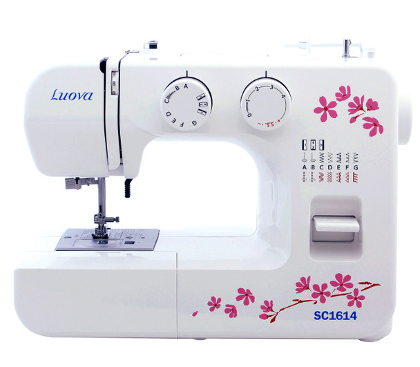 Luova SC1614 Sewing Machine with Bonus Feet